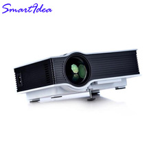 Support Korean & Russian Language UC40+ Mini LED home cinema Projector Pico LCD Video Game Proyector TV Projektor 3D Beamer