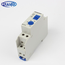 Free shipping Din rail Staircase Lighting Timer Switch timer relay 220VAC 16A used for corridor lighting ALC18(China)