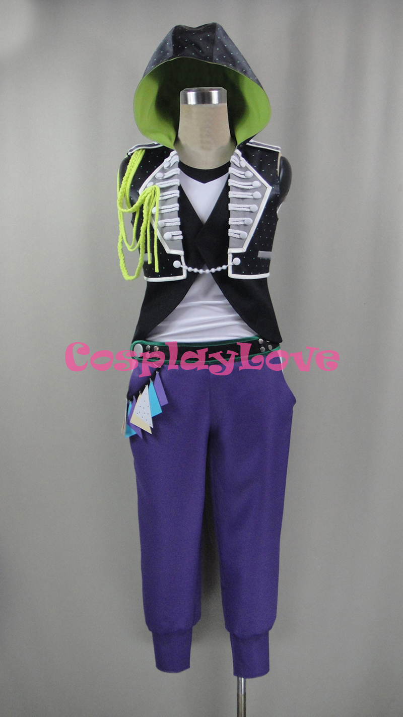 Kaneshiro Goushi Cosplay Costume From B-project THRIVE Ambitious Cospaly Custom Made Halloween Christmas Costume