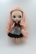 Free Shipping Top discount  DIY  Nude Blyth Doll item NO. 243M Doll matt face limited gift  special price cheap offer toy