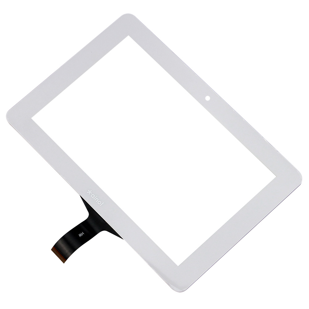 White Color 7 inch Capacitive Touch Screen Digitizer Panel For Ainol Novo 7 Venus without Tape<br><br>Aliexpress