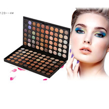 Best Deal 120 Colors Eyeshadow Palette Eye Shadow Makeup Cosmetic Shimmer Matte Eyeshadow maquiagem paleta de sombra(China)