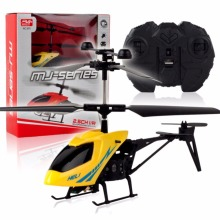 M89CNew! RC 2CH Mini helicopter Radio Remote Control Aircraft Micro 2 Channel Yellow