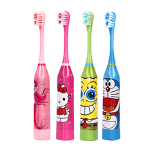 Buy Cartoon Pattern Children Electric Toothbrush Double-sided Tooth Brush Heads Electric Teeth Brush Replacement Brush Heads Kids for $3.02 in AliExpress store