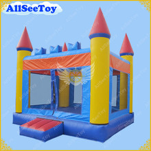 Free Shipping Big Inflatable Bounce House,4m by 4m Inflatable Moonwalk(China)