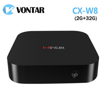 [Genuine] Wintel CX-W8 Mini PC Windows 8.1 Android 4.4 Dual OS with 2GB/32GB Intel Atom Z3735F W8 Portable For TV Phone Tablet