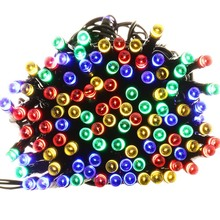 High Quality Waterproof lederTEK 200 LED 8 Modes Solar Fairy String Lights For Outdoor, Garden LED String Solar Light(China)