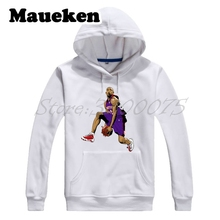 Men Hoodies Legendes 15 Vince Carter Flying Man Sweatshirts Hooded Thick Lace-up Autumn Winter W17101322(China)