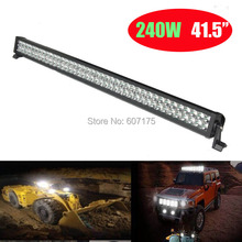 factory wholesale LED light bar 240W, LED offroad light led working lighting, truck light, IP67 31.5inch 32'' 34'' free shipping
