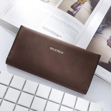 New Arrival Dull Polish Wallet Multifunctional Purse  Super Thin Long Style Closure Fashion Money Bag More Card Slots For Women