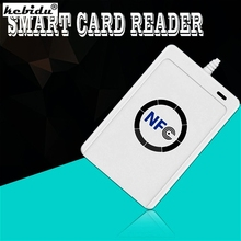 Buy kebidu New NFC ACR122U RFID smart card Reader Writer Copier Duplicator clone software USB S50 13.56mhz ISO 14443+5pcs UID Tag for $30.29 in AliExpress store
