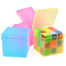 Plastic Saving Box Outer Packing for 3x3x3 Magic Cube - Random Color