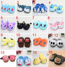 11'' Sylveon Espeon Doraemon Domo Chopper Mudkip Snorlax Haunter Psyduck Espeon Umbreon slipper home plush toys(China)
