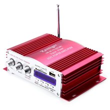 Kentiger USB Power Audio Professional Amplifier 2008 Failure Memory Function IR Control FM 87.5 - 108MHz MP3 2017 Hot