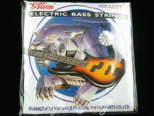 Alice 5 Strings Electric Bass Strings 1st-5th Nickel Alloy Wound Strings 045-130 in. Free Shipping Wholesales