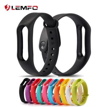 Colorido correa de la venda de bandas de reemplazo para xiaomi mi banda 2 miband pulsera inteligente 2 dispositivos portátiles 10 colores