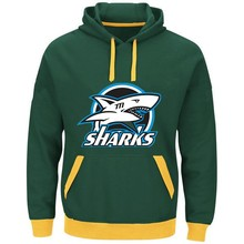 Sharks Logo Picture Style Hoodies New Stitching Jerseys Customize Sharks Team Player Any Name And Number Sweatshirt Pullover(China)