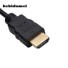 kebidumei Micro USB To HDMI Cable Universal 1080P HDTV Adapter For Samsung Galaxy Note 3 S2 S3 S4 S5(China)
