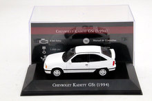 IXO 1:43 Scale Chevrolet Kadett GSI 1994 Auto Show Models Cars Collection Diecast Toys Hobbies(China)