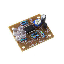 LM358 breathing light parts electronic DIY fun making kit blue flashing lamp electronic production suite
