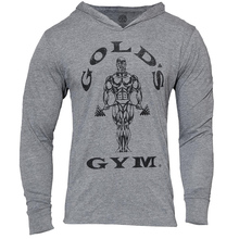 Golds Gyms Clothing Mens Sweatshirts Hoodies Bodybuilding Streetwear Fitness Workout Tracksuit Male Cotton Moletom Masculino - MUSCLE ALIVE Nucky-218 Store store