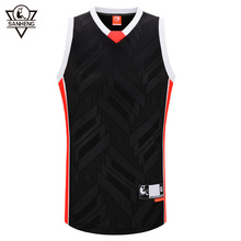 SANHENG Men's Basketball Jersey Competition Jerseys Quick Dry Tops Breathable Sports Clothes Custom Basketball Jerseys 313A(China)