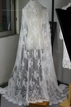 3 Meter /Lot High Quality Exquisite White and Black  Eyelash Lace Fabric Wedding Dress Skirt DIY embroidery 150CM wide.