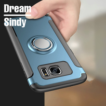 soft tpu cases for samsung galaxy s7 edge full cover hard plastic matte pc shell for samsung galaxy s8 s8 plus Protection case(China)
