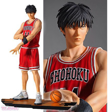 Slam Dunk Shohoku 11 Figure Rukawa Kaede PVC anime SlamDunk Action Figure basketball free shipping