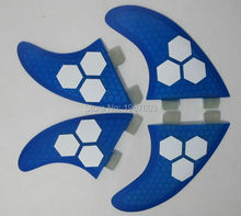 2017 Glassfiber Honeycomb FCS surf fin Quad Set Surf Fins (2 pcs G5, 2 pcs GX) for SUP surfboard paddle board