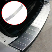 FIT FOR 2013 2014 2015 2016 2017 FORD ESCAPE KUGA REAR TRUNK DECK BUMPER PROTECTOR STEP PANEL BOOT SILL PLATE TRIM COVER GARNISH
