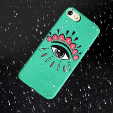 Luxury Animal Eye Tiger Head Design Candy TPU Case For iPhone 6 6s 7 Art Pattern Back Cover Case For iPhone 6 6s 7 Plus case