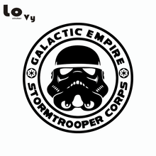 Classic Film Star Wars Car Sticker Stormtrooper Decorative Empire Vinyl Car Decal