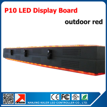 Double Side P10 Led Display Board Scrolling Message LED Signs 32*160pixel 1/4 scan Red Color LED Display Signboard