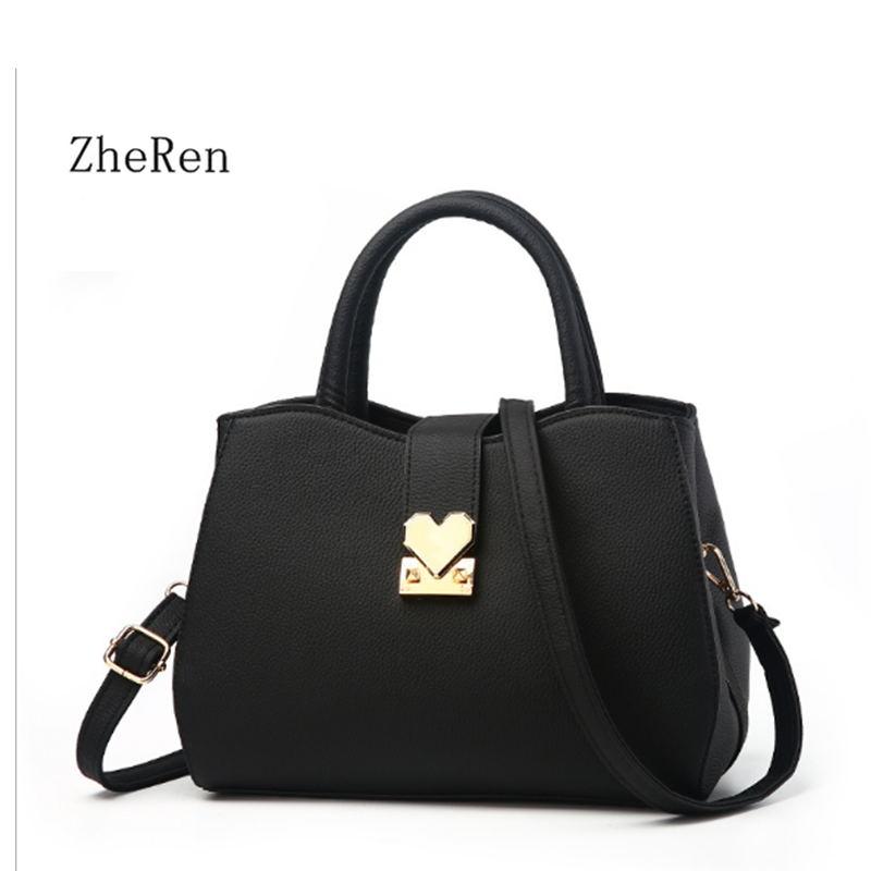 women bags 2017 new middle-aged lady Handbag simple Mommy Shoulder Bag Messenger Bags hand bag<br>
