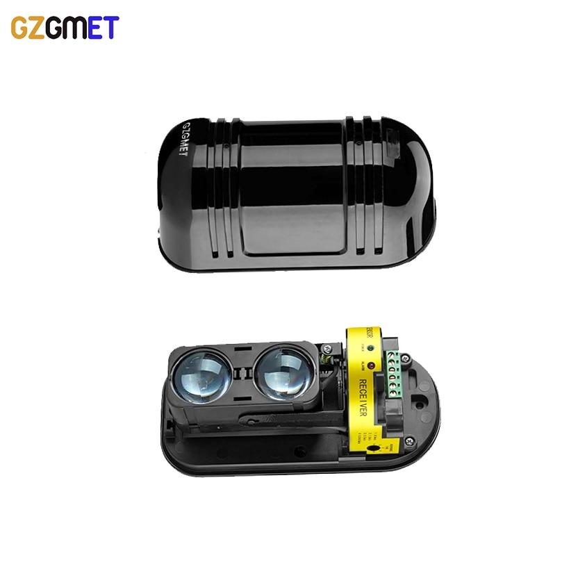 GZGMET IP55 Watreproof  Wired 100M Alarm System Dual Beam IR SENSOR Bulgar Photoelectric Infrared Beam Detector<br>