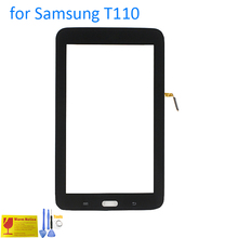 ALANGDUO for Samsung Galaxy Tab 3 Lite 7.0 T110 Wifi Tablet Touch Screen Digitizer Glass Panel Replacement Touchscreen Glass