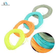 Maximumcatch 100FT Weight Forward Floating Fly Line 2/3/4/5/6/7/8/wt Fly Line Moss Green/Orange/Teal/Yellow Fishing Line