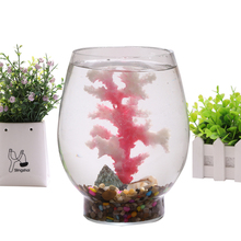 Aquarium Decoration Coral Ornaments water plants plastic simulation seawater Fish tank Aquatic Supplies Accessories Pet Products(China)