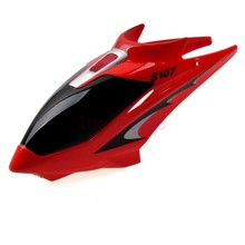 S107-01 Red Canopy Head Cover  For Syma S107G RC 3CH Gyro Helicopter Parts
