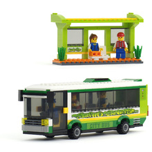 325pcs City Bus Game Building Blocks Toys Baby Boy Girl Toys Children Toys Wooden Toys Kids Children Plaything K0290-20116(China)