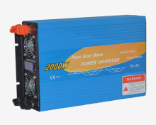 12V/24V/48V 2000W Single Phase Pure Sine Wave Power Inverter Off Grid Solar Inverter With Battery Charger DS-2000PC