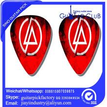 Free shipping Free shipping red link park 2 side pirnted on guitar pick ukulele pick bass pick 120 pcs 25.6USD only guitar pick(China)