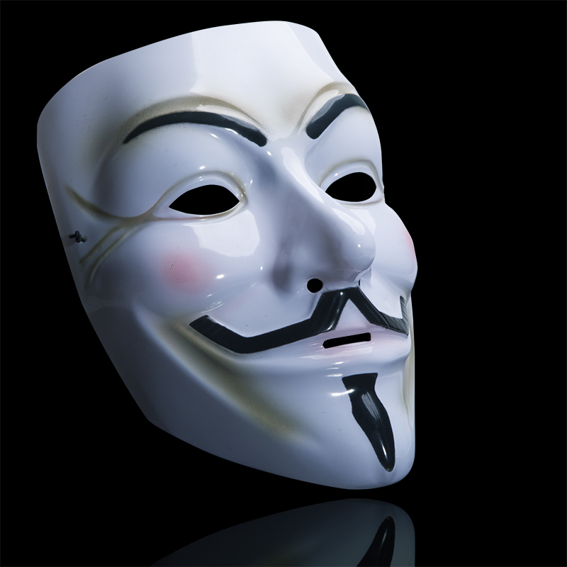Halloween Plastic V for Vendetta Masks Cosplay Full Face Masks for Kids Birthday Gift Party Tool Masquerade Mask<br><br>Aliexpress