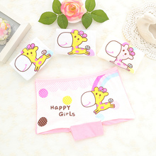 4Pcs/Lot 2016 cotton 2-10 years baby girls panties Cartoon Kids underwear pant Children's briefs underpant Princess boxer shorts(China)