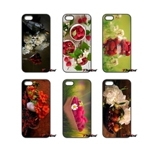 Berries and Flowers Poster For iPod Touch iPhone 4 4S 5 5S 5C SE 6 6S 7 Plus Samung Galaxy A3 A5 J3 J5 J7 2016 2017 Case Cover