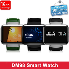Buy DM98 Smart Watch MTK6572 2.2 inch Screen 900mAh Battery 512MB Ram 4GB Rom Android OS 3G WCDMA GPS WIFI Smartwatch Stock for $73.59 in AliExpress store