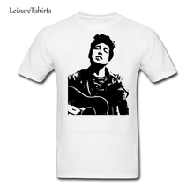Bob Dylan Guy T-shirt Leisure Comfortable T Shirts Man Short Sleeve 100% Cotton Tees Male Latest Simple Style Big Tee Shirt