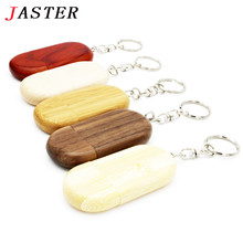 JASTER LOGO Customized usb flash drive wooden creative gift pendrive 4GB 8GB 16GB pen drive 32G u disk flash card memory stick
