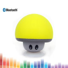 Wireless Mini Bluetooth Speaker Portable Mushroom Stereo Speaker Bluetooth Hand Speakers Toy Speaker for Mobile Phone PC iPad